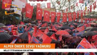 Düziçi Belediye Başkan Adayı Alper Öner`e Sevgi Yağmuru