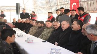 Şehit İstihkâm Uzman Çavuş Serkan Deprem için Mevlit Okutuldu