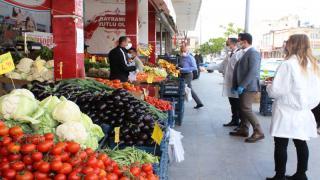 Düziçi Kaymakamı Mutlu ALMALI, Gıda İşletmelerine Denetimde Bulundu
