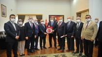 MHP'den Vali Yılmaz'a ziyaret