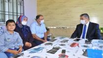 Vali Yılmaz, İdlib şehidi Akkaya'nın ailesini ziyaret etti