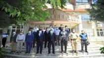 Vali Dr. Erdinç Yılmaz Bahçe Belediyesi'ni Ziyaret Etti