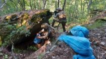 Osmaniye'de PKK'ya ait mağara ve sığınak bulundu