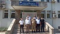 Düziçi İlçe Jandarma Komutanına Hayırlı Olsun Ziyareti