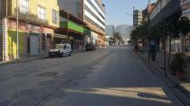 Düziçi'nde cadde ve meydanlarda sessizlik hakim oldu