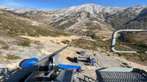 Düziçi Teleferik Projesinde 53 mm çekici ana halatın imalatı tamamlandı