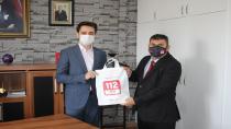 112 acil çağrı merkezi tanıtımları sürüyor