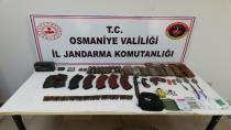AMANOSLAR'DA PKK'YA AİT ÇOK SAYIDA MÜHİMMAT ELE GEÇİRİLDİ
