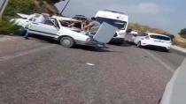 Kadirli - Andırın Yolunda Trafik Kazası