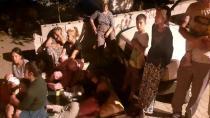 Düziçi'nde Vatandaşlar geceyi sokaklarda geçirdi