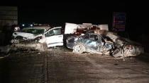Kanlıgeçitte Trafik Kazası1 Kişi Hayatını Kaybetti